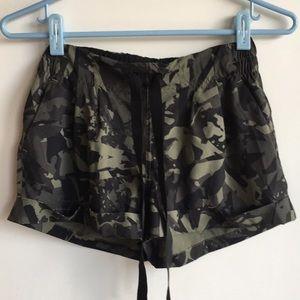 Lululemon Camo Shorts